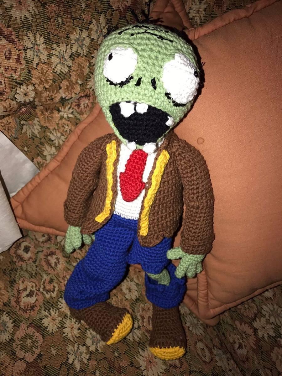 halloween zombie Crochet pattern, halloween zombie crochet pattern ... | 1200x900