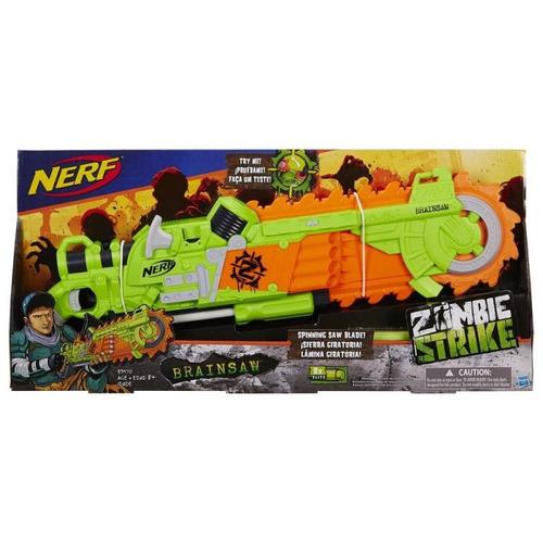 zombie strike brainsaw - nerf b3570