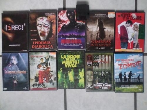 zombies -coleccion de 10 filmes clasicos de terror 10 dvd's