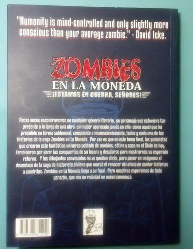 zombies en la moneda - estamos en guerra señores (comic)