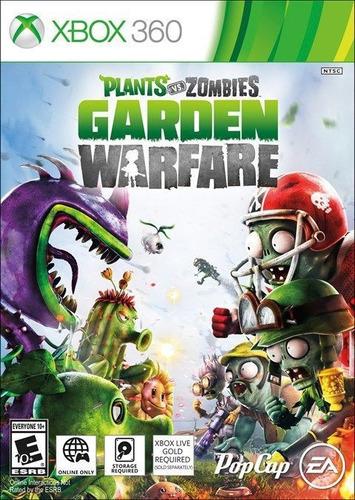 zombies garden warfare xbox 360