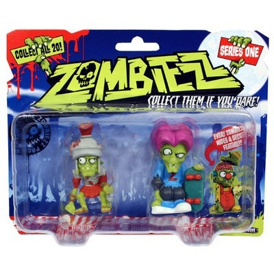 zombies set x 2 muñecos zombiezz original - fair play toys