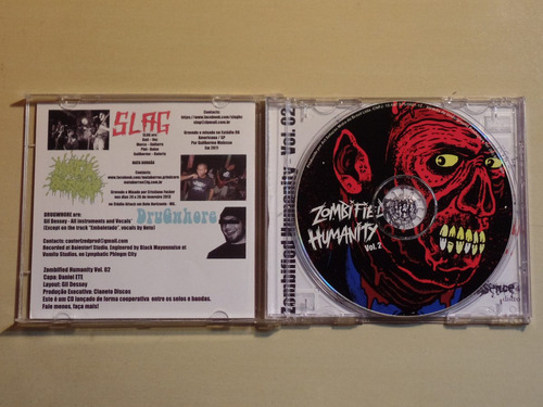 zombified humanity vol. 2 - 10 way split