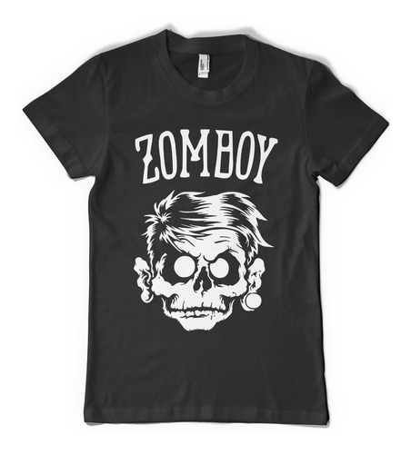 zomboy logo face   - color animal