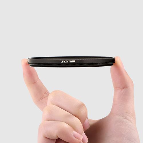 zomei circular filtro polarizador normal cpl lente da câmera