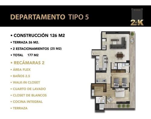 zona 24k: departamentos en venta pedregal   tipo 5