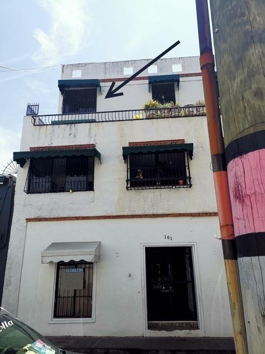 zona colonial - apto. en venta - 4to nivel