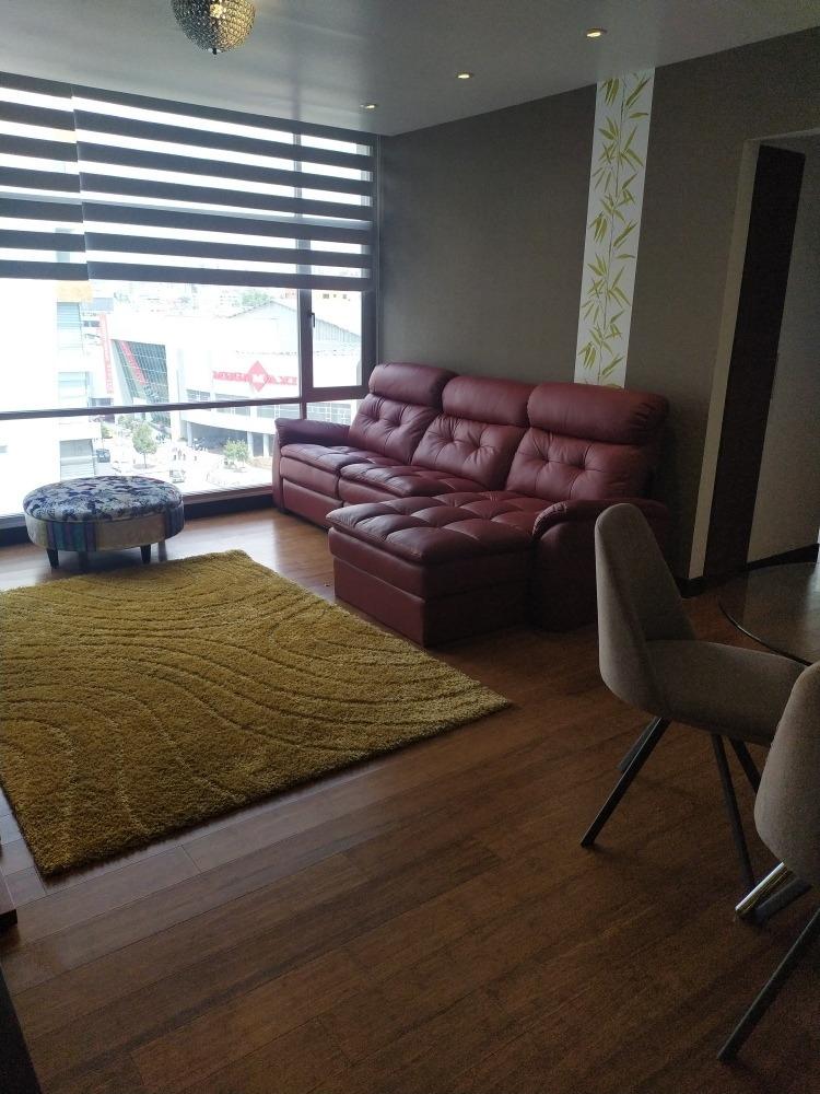 zona exclusiva de la ciudad. rento apartamento amoblado