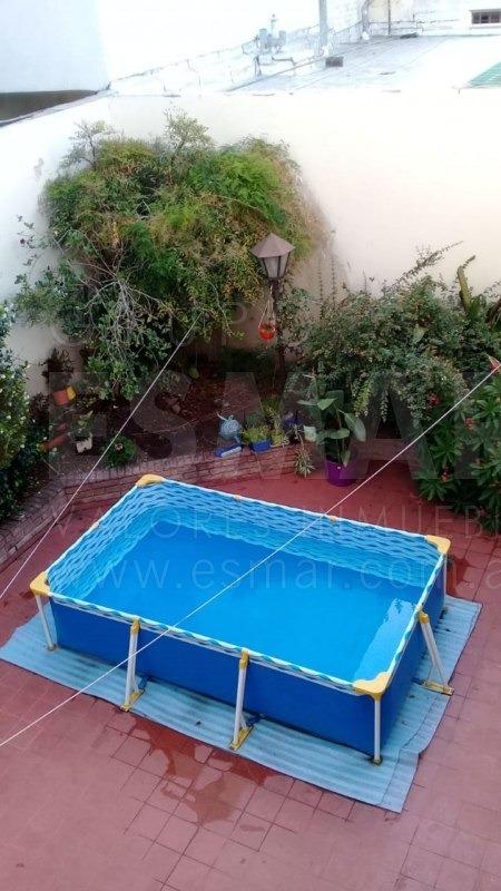 zona pza del barco 3 dor, 2 baños y patio c/renta