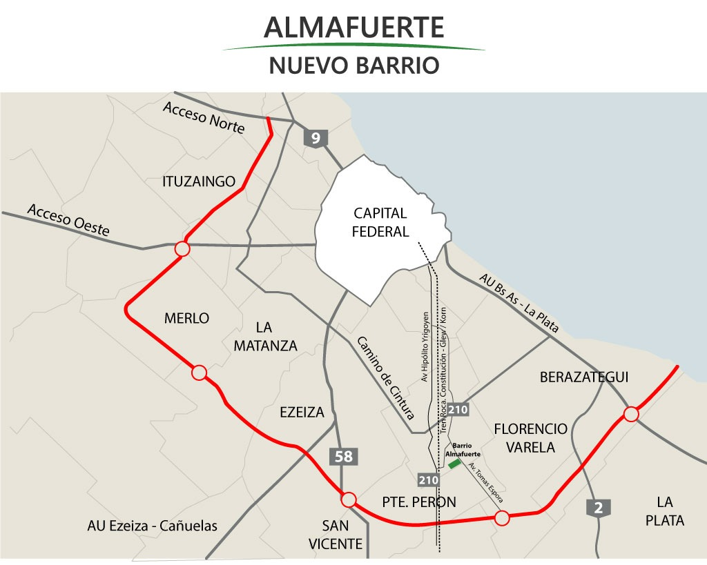 zona sur glew barrio almafuerte