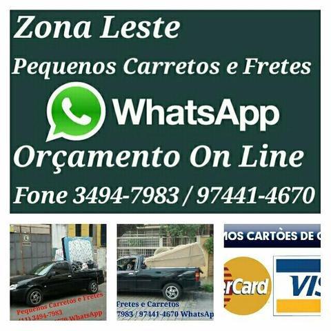 zonaleste pequenos carretos. fone 011 97441-467 whatsapp