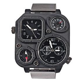e56a7e16b708 Reloj Oulm Tipo Militar - Reloj para de Hombre en Mercado Libre México