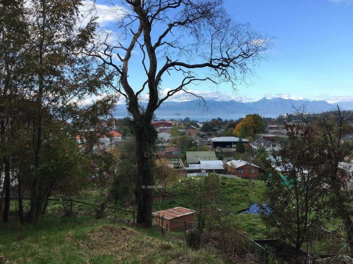 zonasur.cl propiedades; vende terreno vista lago y volcanes, sector residencial, urbano, villarrica