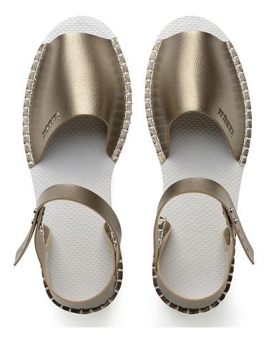 zonazero sandalias havaianas flatform fashion mujer