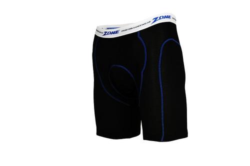 zone long-ride rendimiento pantalones cortos con coolmax rel