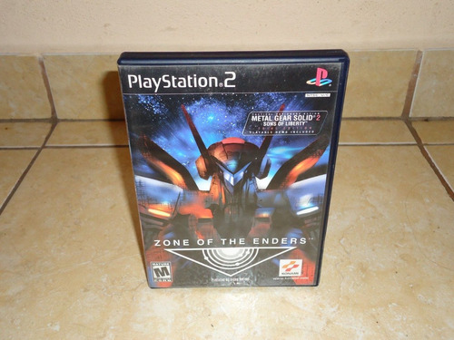 zone of the enders playstation 2 ps2 +++
