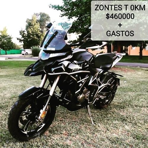 zontes t310 0km entrega ya financia 12/18 c/tarjet