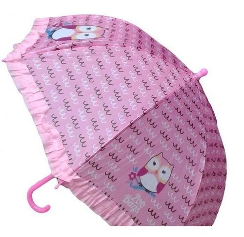zoo bags paraguas infantil paraguas animalitos paragua buho