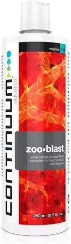 zoo blast 250ml continuum plancton/aminoácidos comida corais