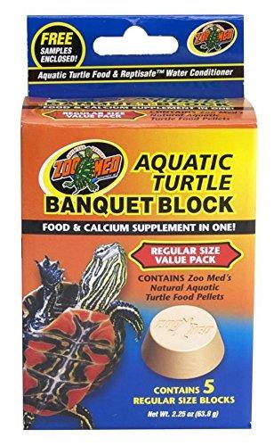 zoo med block pack de valor para la tortuga acuática, 2,25