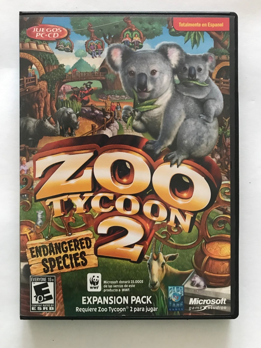 Zoo Tycoon 2 Endangared Species - Pc - $ 280 00
