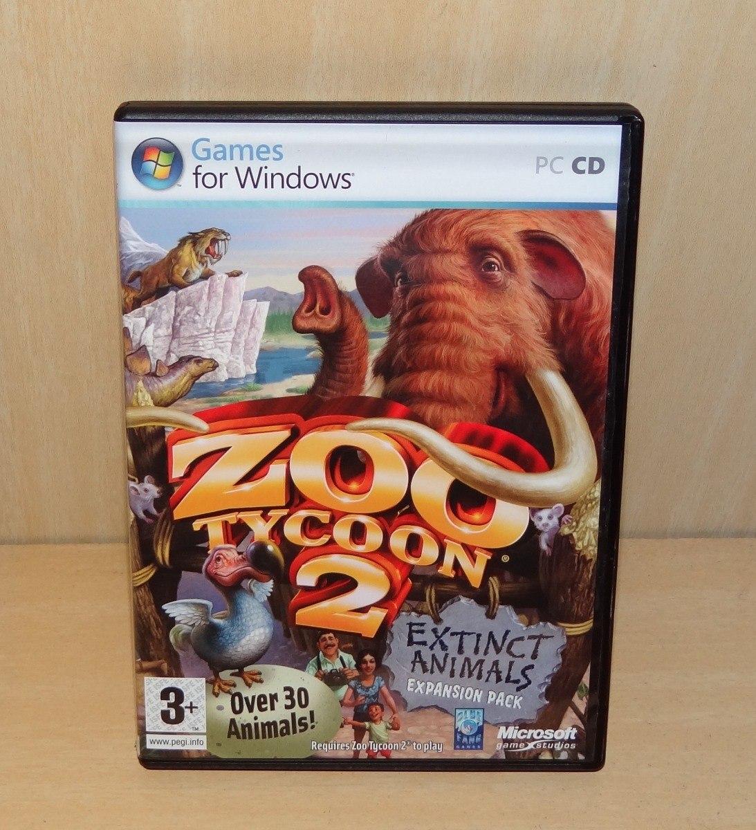 Zoo Tycoon 2 - Extinct Animals