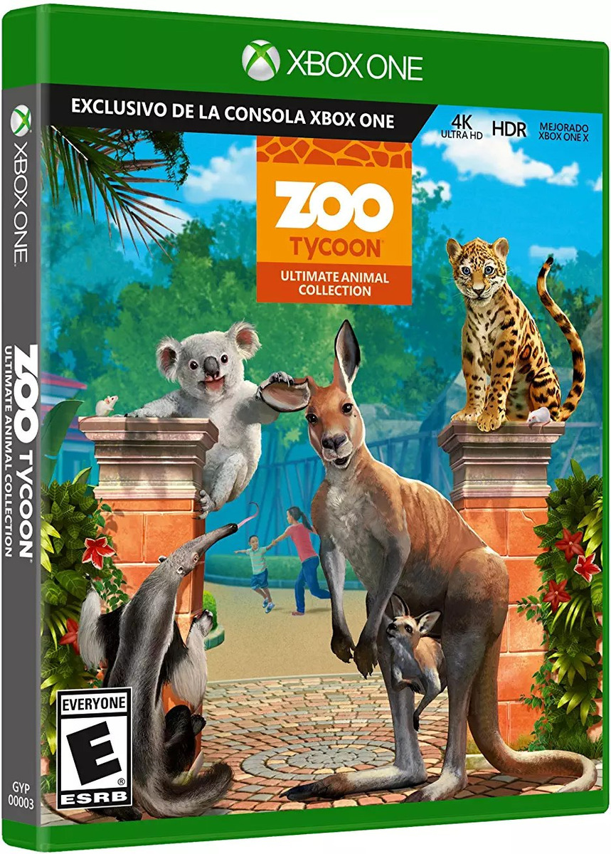 Zoo Tycoon: Ultimate Animal Collection - Xbox One - Ulti C8