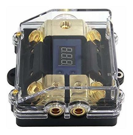 zookoto portafusibles de 100 a, car audio estéreo led pantal