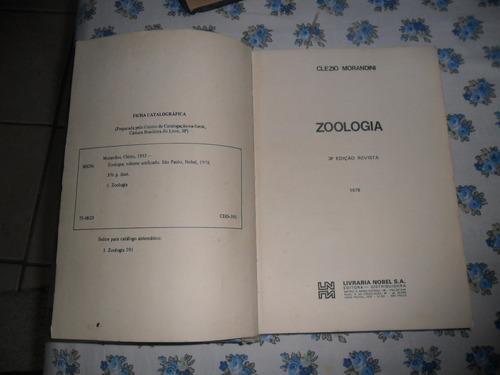 zoologia clezio morandini - volume único