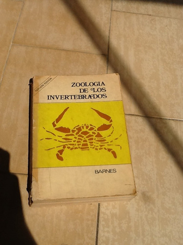 zoología de los invertebrados robert barnes