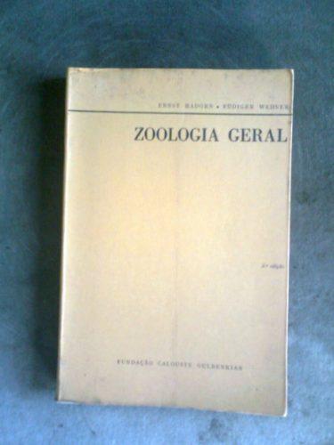 zoologia geral - hadorn e wehner - calouste gulbenkian 1978