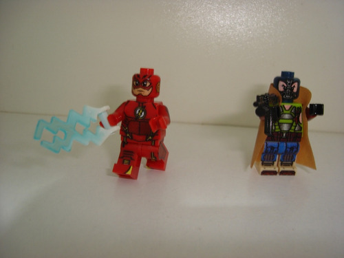 zoom flash reverso flash barry allen cosmic boy bane batman
