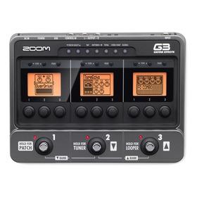 Zoom G3 Pedalera Multiefectos Para Guitarra Electrica