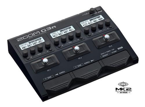 zoom g3n pedalera procesador multiefecto guitarra fuente 6pa