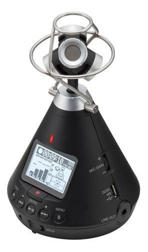 zoom gravador de áudio 360° h3-vr