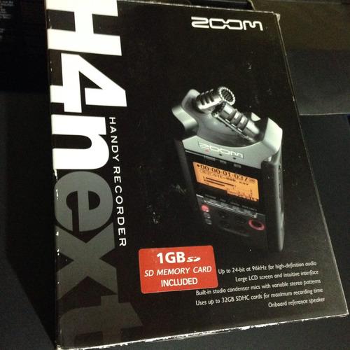 zoom h4n grabador digital portatil canon 60d 5d 7d nikon