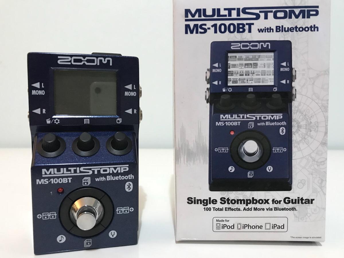 Zoom MS-100BT MultiStomp Drivers Update