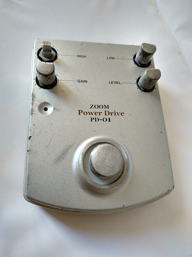 zoom overdrive japonés japan klon centaur tube screamer
