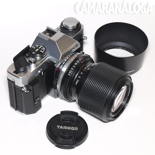 zoom tamron 70-210mm. macro. modelo 158a.