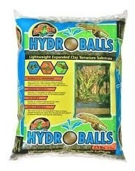 zoomed substrato hydro balls para répteis 1,13 kg