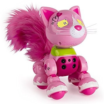 zoomer meowzies, arista, gatito interactivo con luces, son