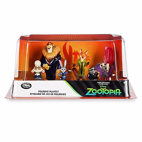 zootopia  disney store playset original