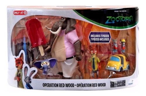 zootopia - operação floresta vermelha - sunny - tomy