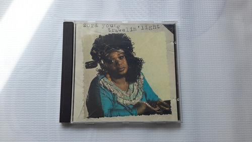 zora young  travelin' light  cd usado importado blues