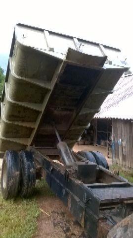 zorra agricola volcadora trator de 6mt cúbicos, doble rodado