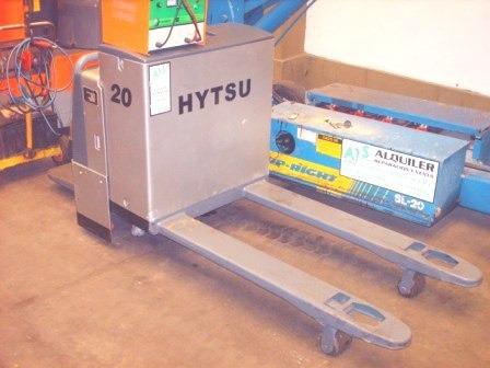 zorra  electrica  hytsu 2000 kg / eléctrica