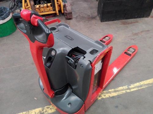 zorra eléctrica linde t18 con batería y cargador