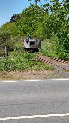 zorra  ferrocarril a motor ferroviara