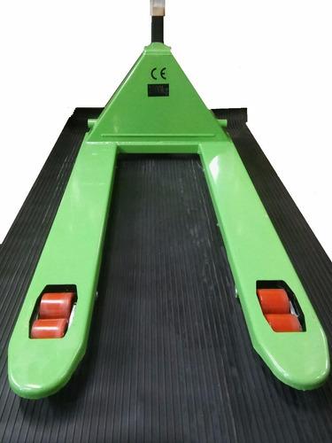 zorra hidráulica elevador manual 2500 kg