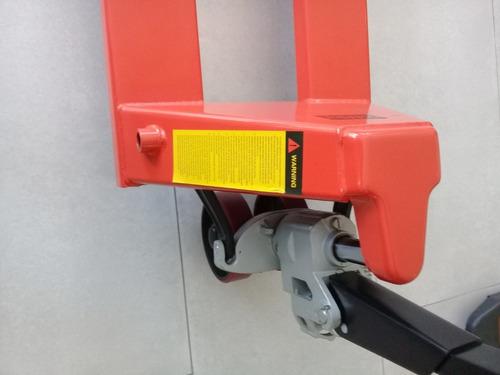 zorra hidráulica manual para 2.500 kg (carretilla manual)
